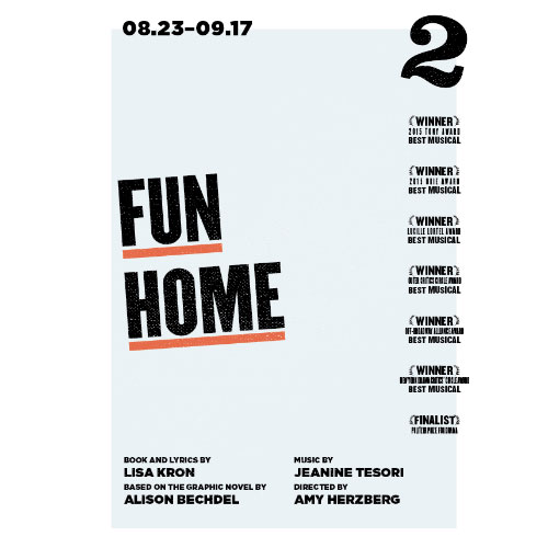 "Rita Appearing In ""Fun Home"" For TheatreSquared Aug. 23 - Sept. 17"